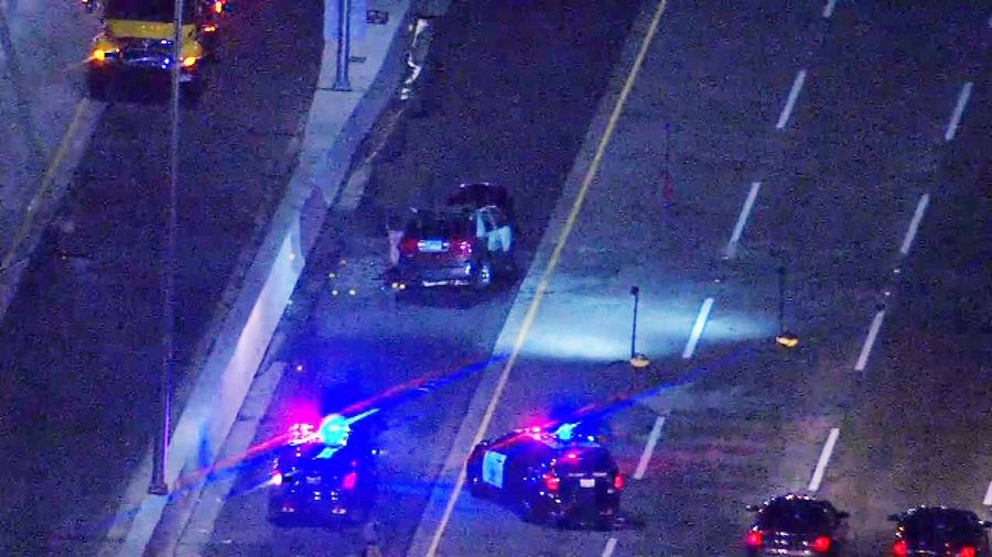 All westbound lanes and one eastbound lane of Interstate 90 were shut down for several hours early Monday while police investigate an officer-involved shooting.
