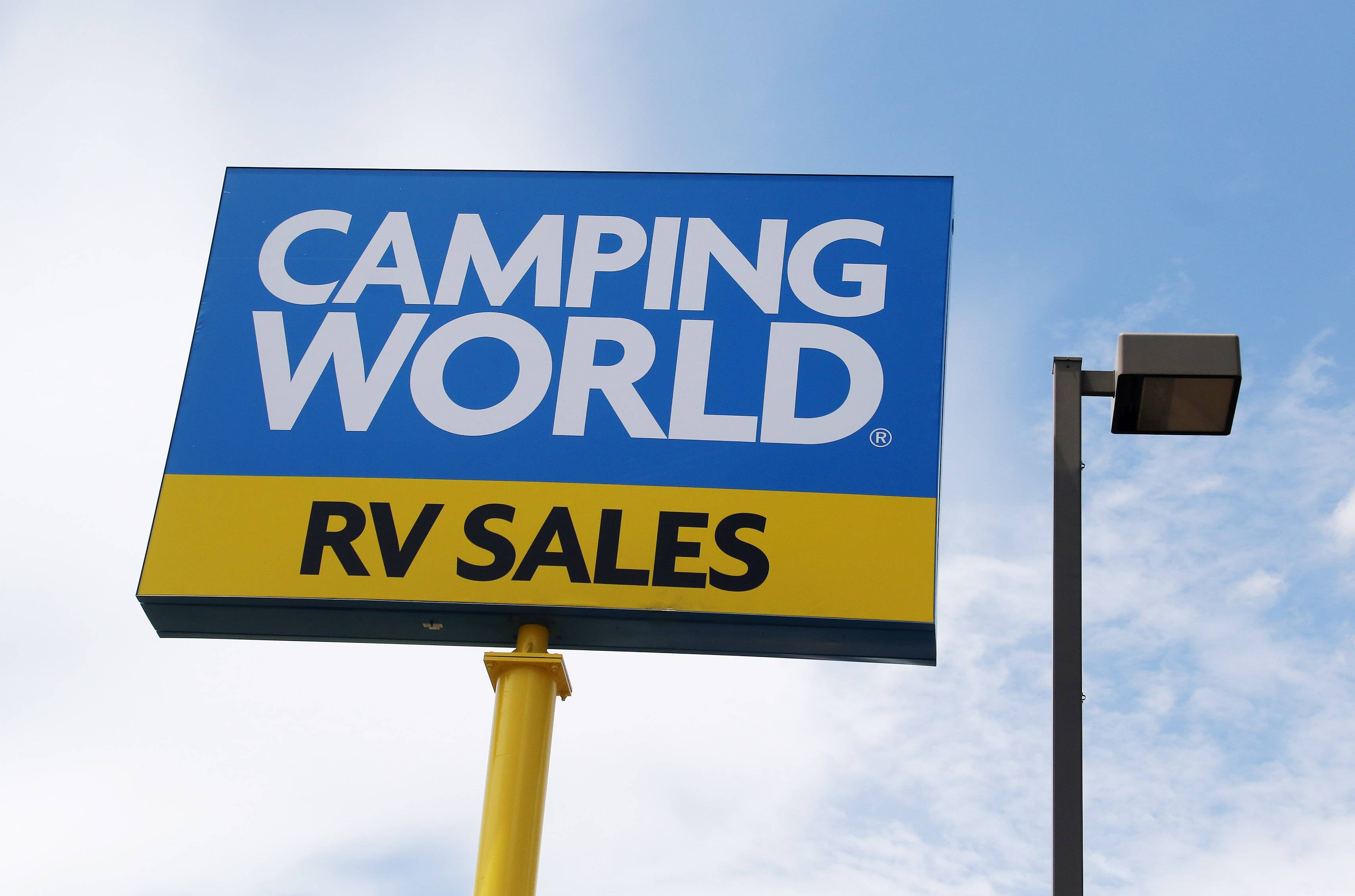 Camping World headquartered in Lincolnshire buys to RV retailers in South Dakota.