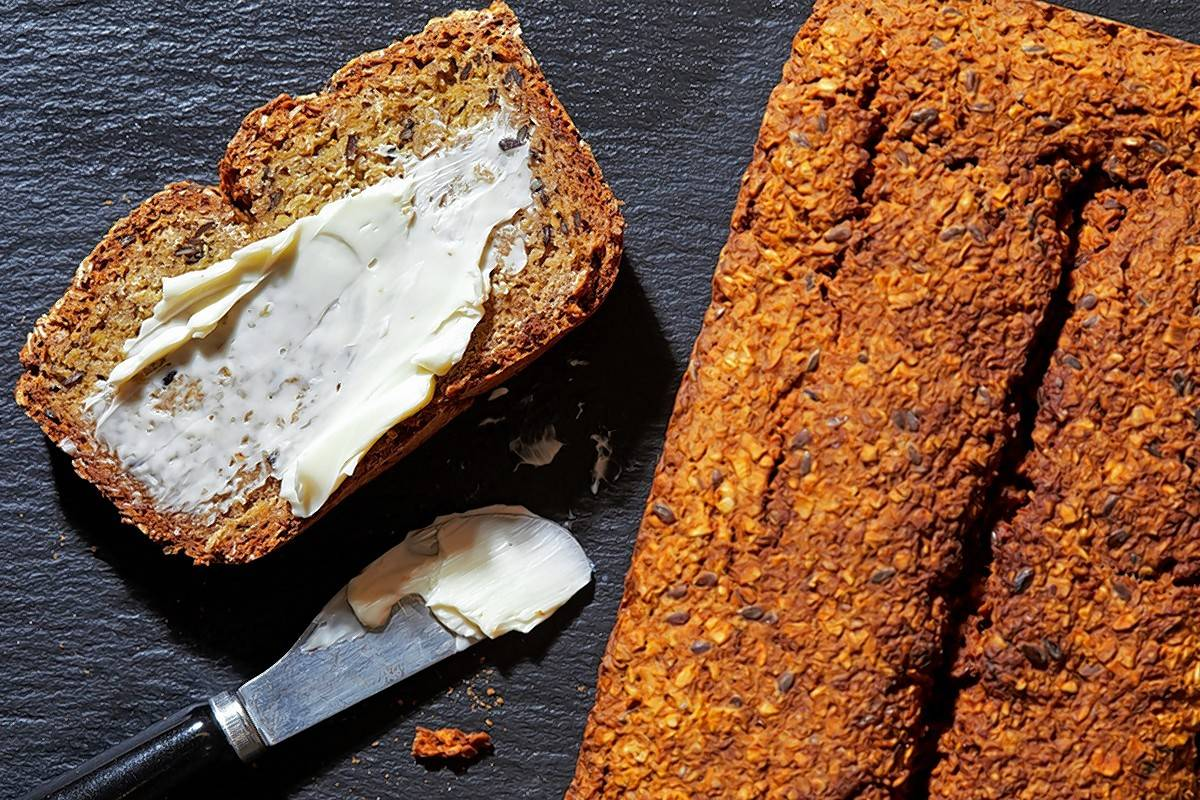 Jan O'Halloran's Brown Bread in all its browned and chewy glory.