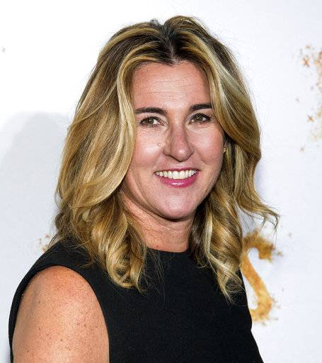 "FILE - In this May 23, 2016, file photo, Nancy Dubuc attends History Channel's ""Roots"" mini-series premiere in New York. Vice Media has appointed Dubuc, the former head of the A&E Networks, to be its chief executive as the company tries to rebound from sexual misconduct allegations. (Photo by Charles Sykes/Invision/AP, File)"