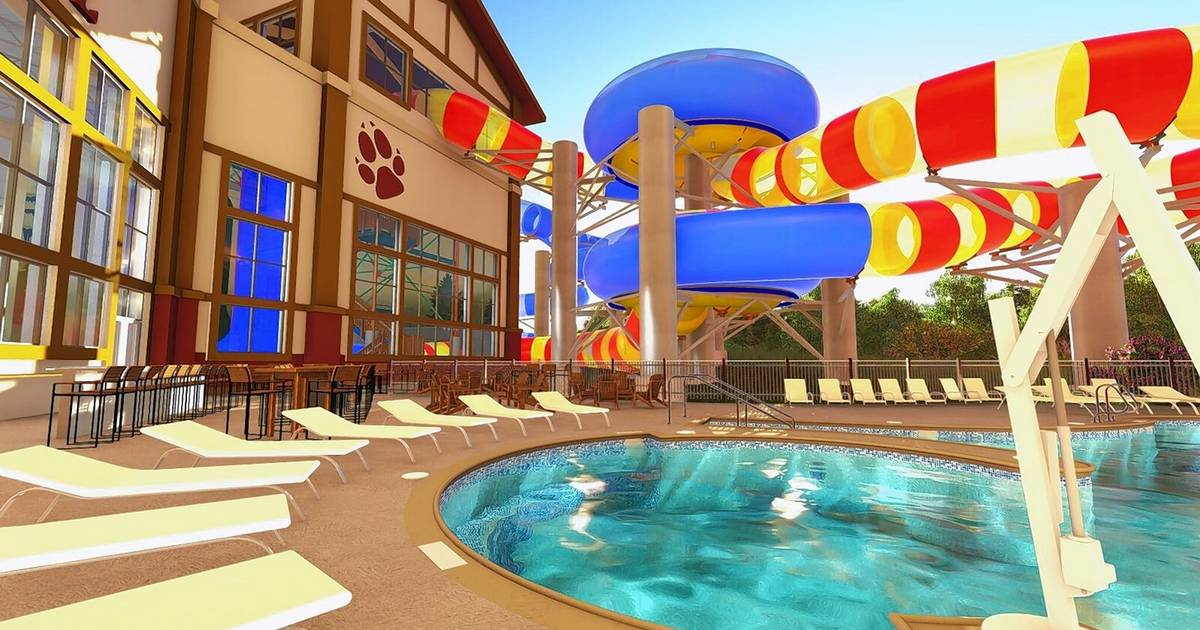What The New Waterslides Will Look Like At Great Wolf Lodge