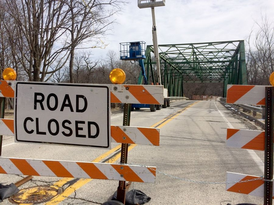 The Rockland Road bridge in Libertyville remains closed, and residents are angry, Mayor Terry Weppler says.