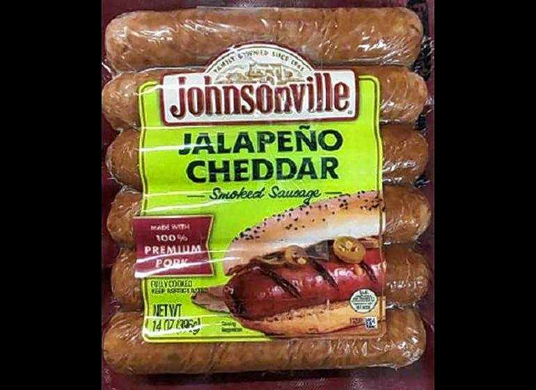 Johnsonville is recalling about 110,000 pounds of smoked sausage because of plastic found in the product.