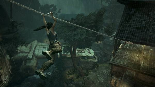widescreen who needs a tomb raider movie when games are already