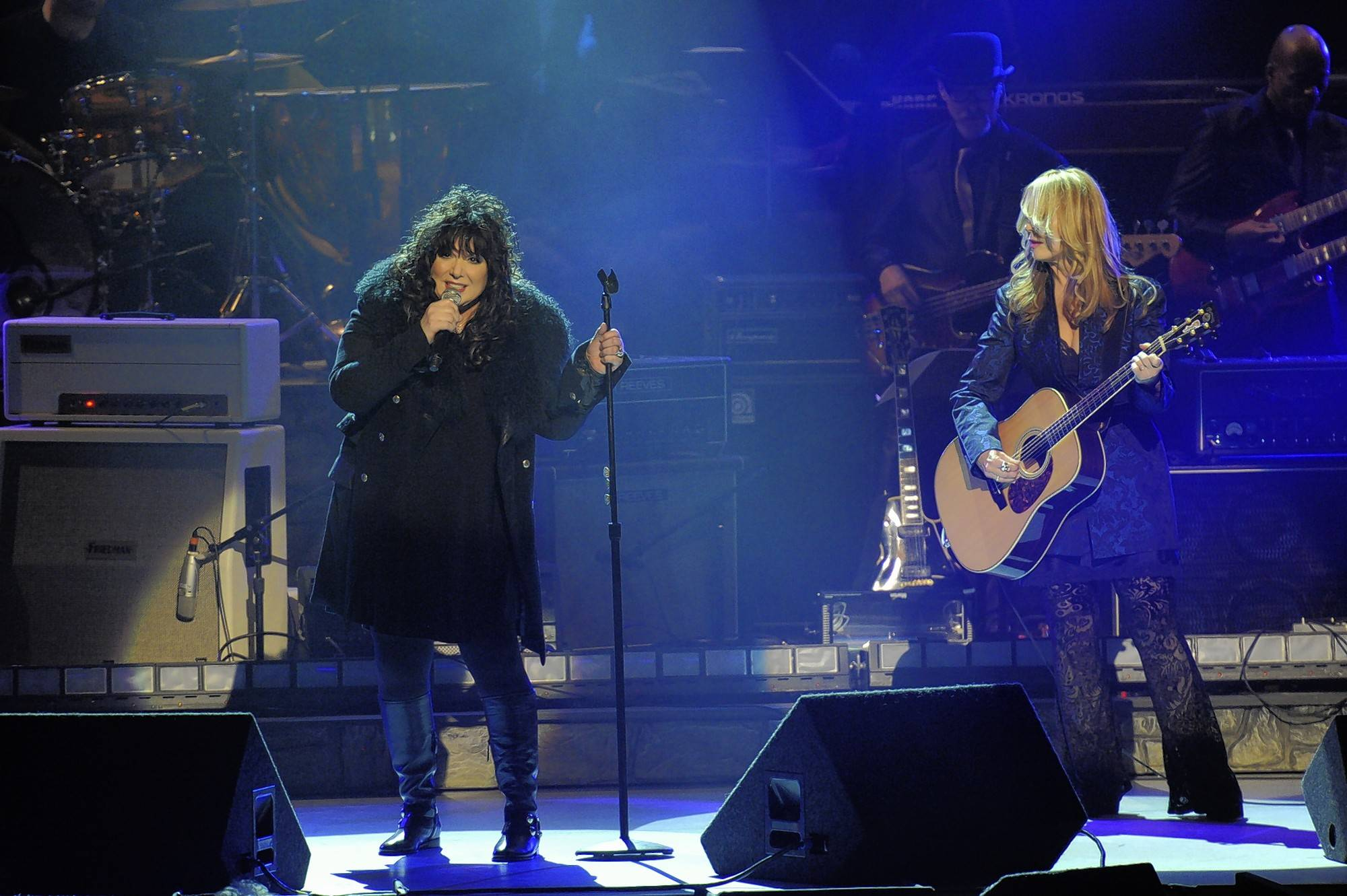 Ann Wilson, left, and Nancy Wilson of Heart performed a Chicago show in 1980 that Ron Onesti will never forget. Ann Wilson has two upcoming solo shows at the Arcada Theatre in St. Charles.