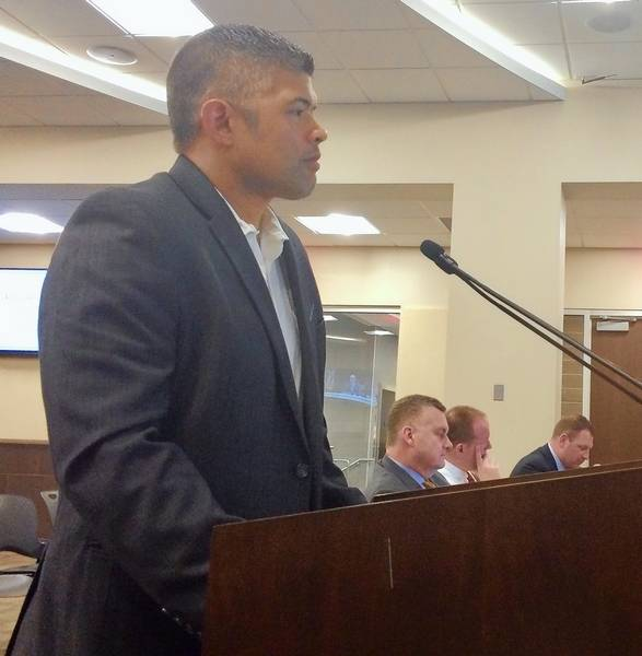 palatine political operative aaron del mar addressed village council concerns this week about last octobers halloween