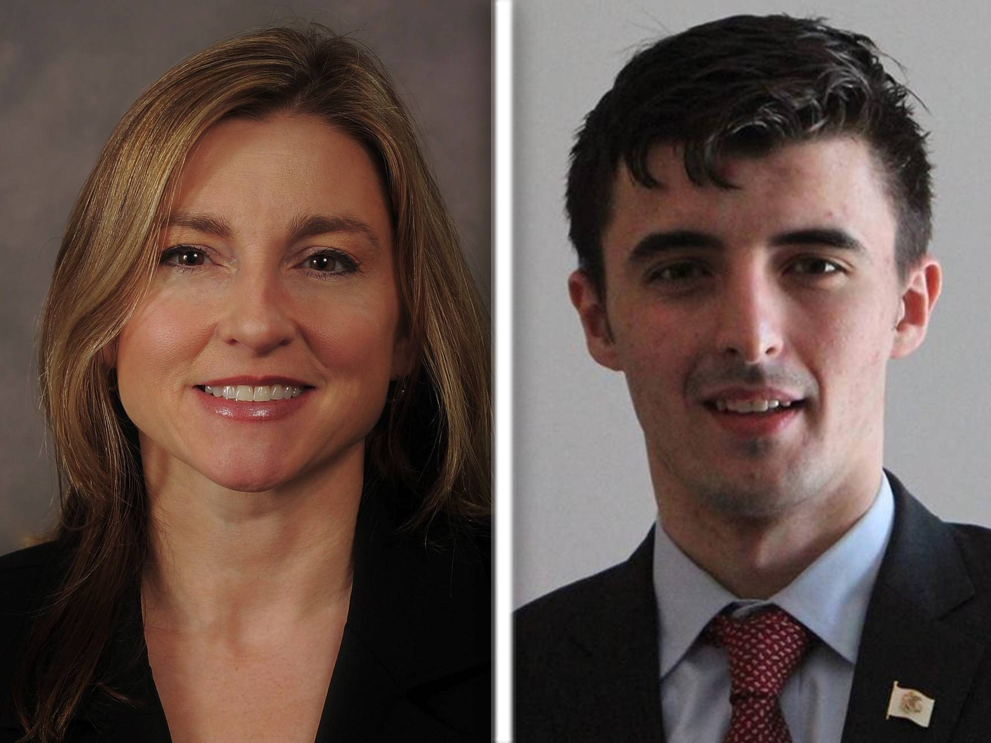 Karen Feldman and Marko Sukovic are Republican candidates for the 59th state House district seat.