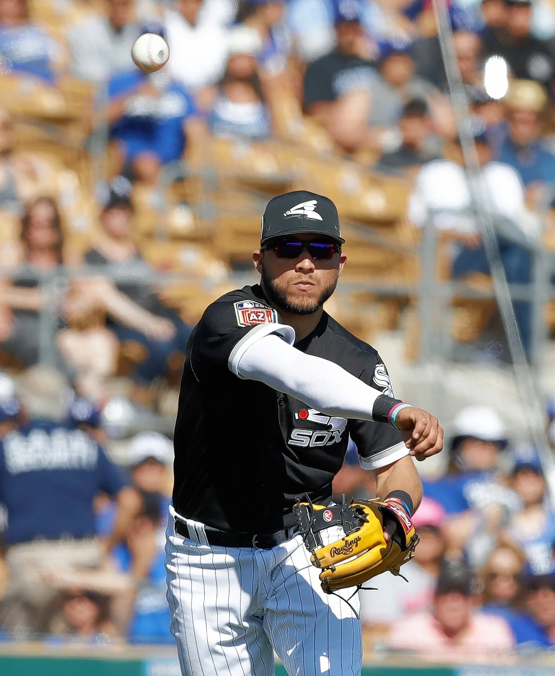 Chicago White Sox infielder Yolmer Sanchez was very effective coming off the bench last season.