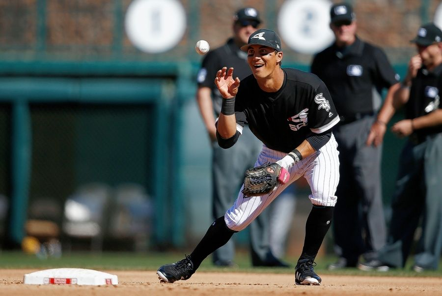 The Chicago White Sox will likely have Tyler Saladino as a utility infielders this season.