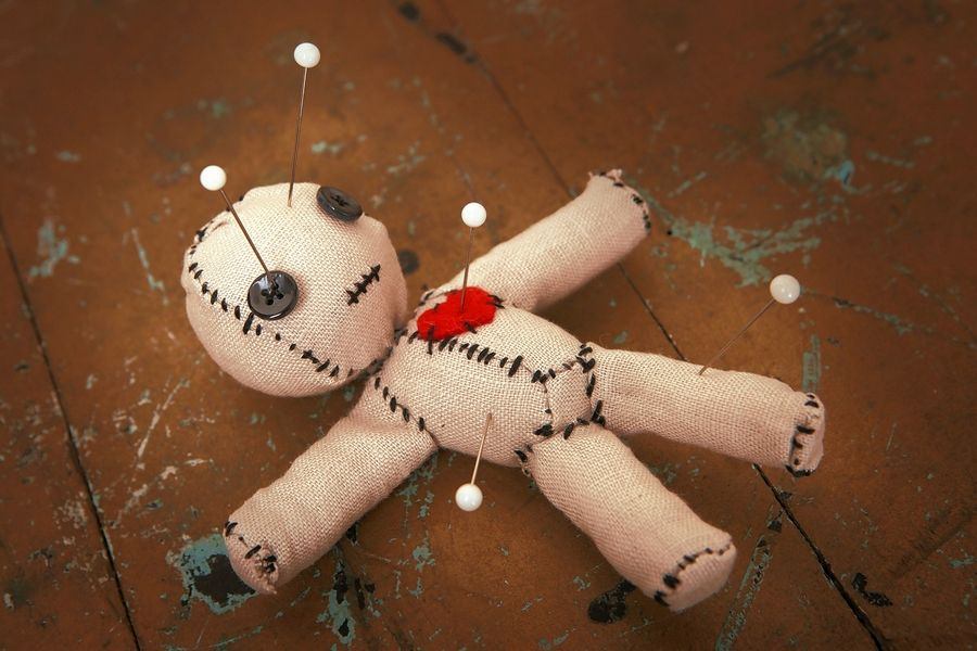 What makes employees happier? A voodoo doll of the boss
