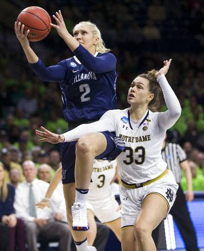 Notre Dame, Inspired By Westbeld, Rout Villanova 98-72