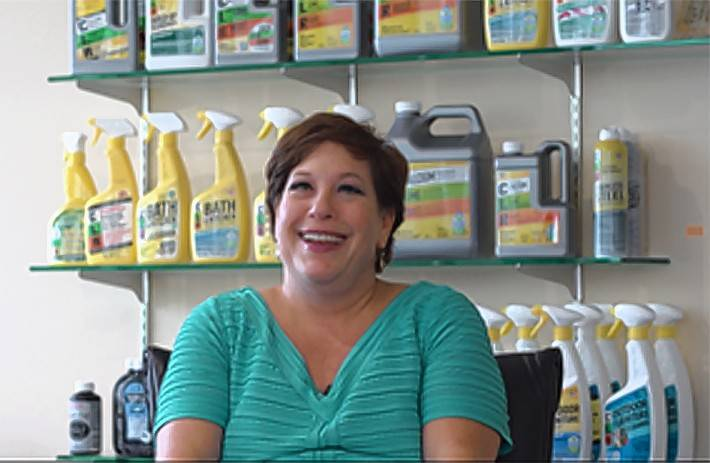 Alison Gutterman is the third generation CEO of family-owned Jelmar LLC in Skokie, which manufactures CLR and Tarn-X cleaning products and has a long history of marketing success in the area.