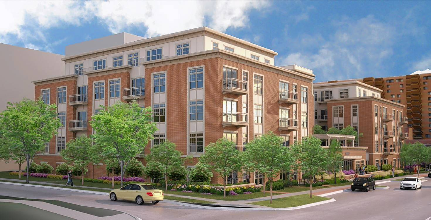 The latest plans for a 5-story, 80-unit apartment building on Sigwalt Street between Highland and Chestnut avenues were rejected by the Arlington Heights village board Monday night.