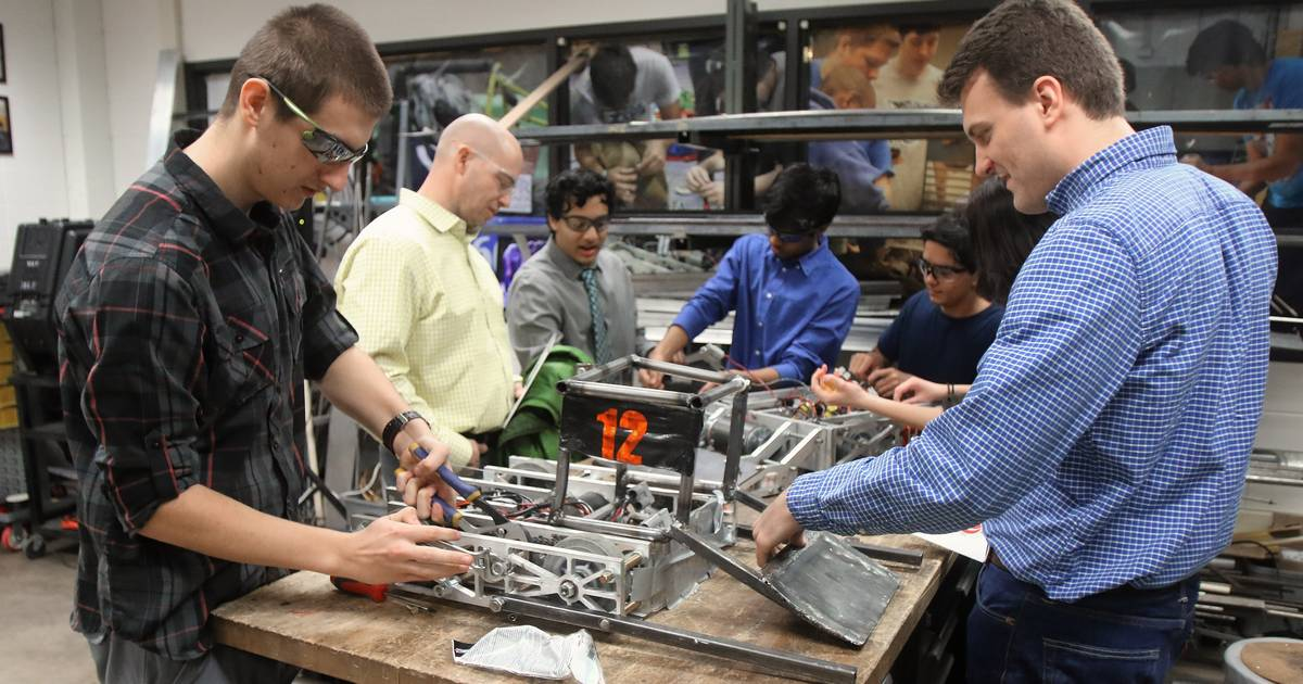 Why Wheeling High School has ramped up its manufacturing program