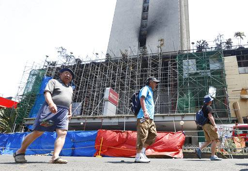 Fire at Manila hotel-casino put out; death toll raised to 5