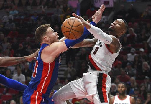 Trail Blazers win 13th straight, beat Clippers 122-109