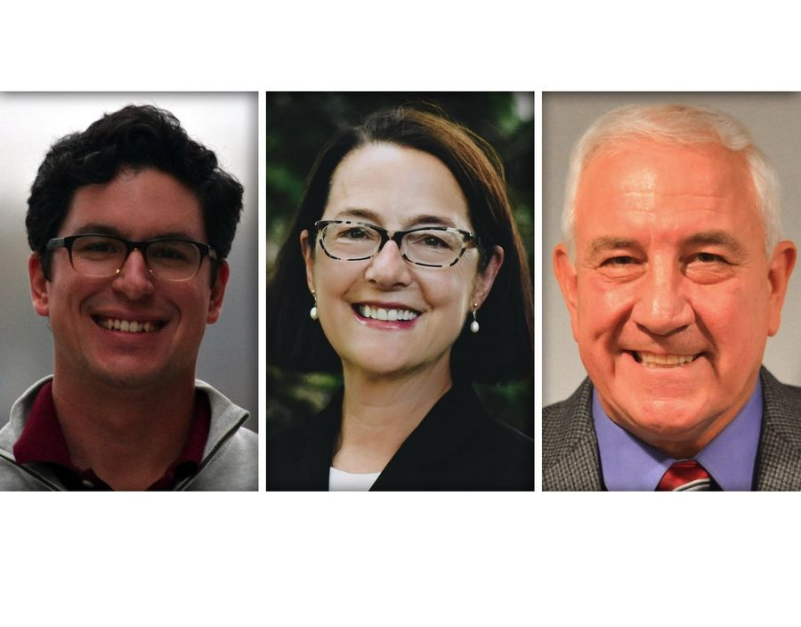 From left, Ryan Byrne, Amy Grant and Burt Minor are Republican candidates for the 42nd state House