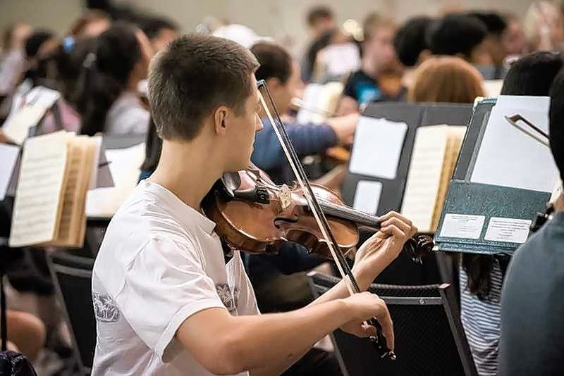 "Thomas Stanila is a leader in the violin section of the Elgin Youth Symphony Orchestra. ""Most people think Thomas' achievements are just because of some rare and special talent, but his real talent is hard work and dedication,"" said Randal Swiggum, the orchestra's artistic director."