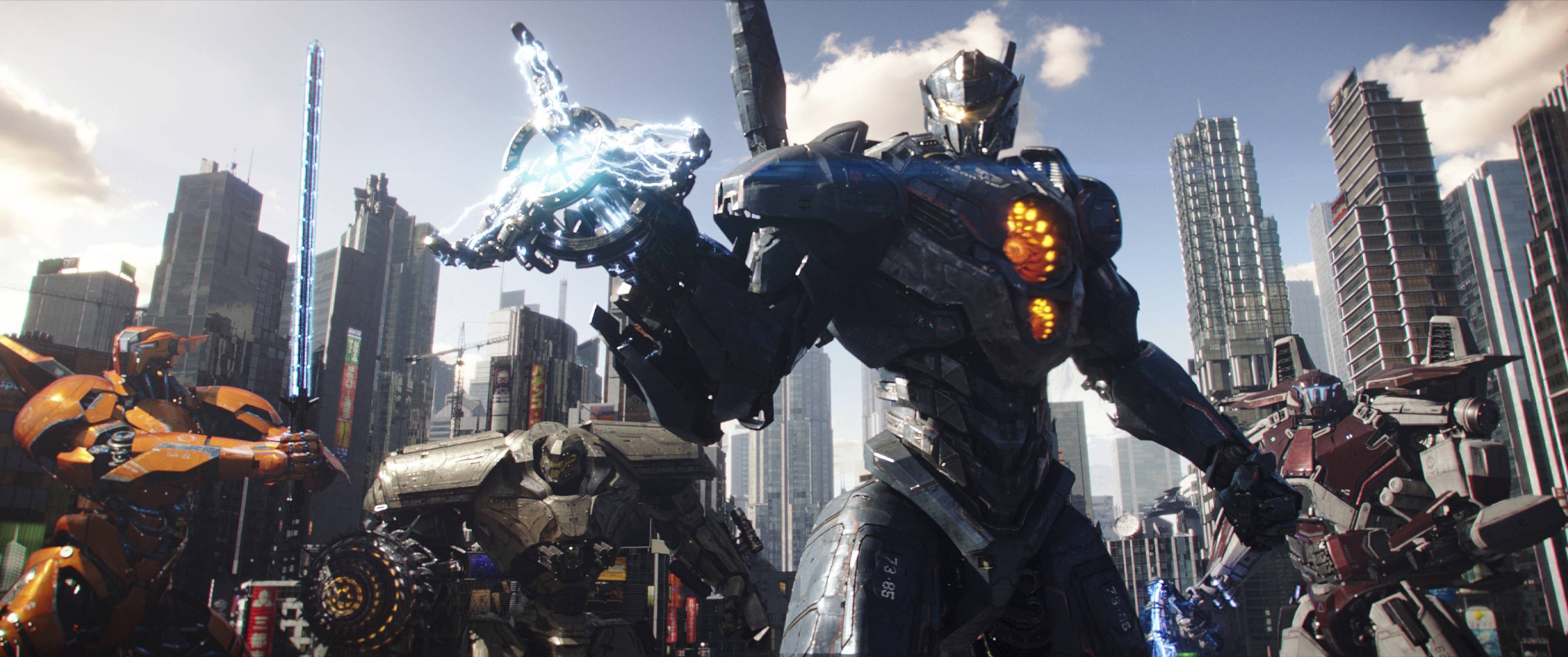 "Robots and monsters battle once more in ""Pacific Rim Uprising."""