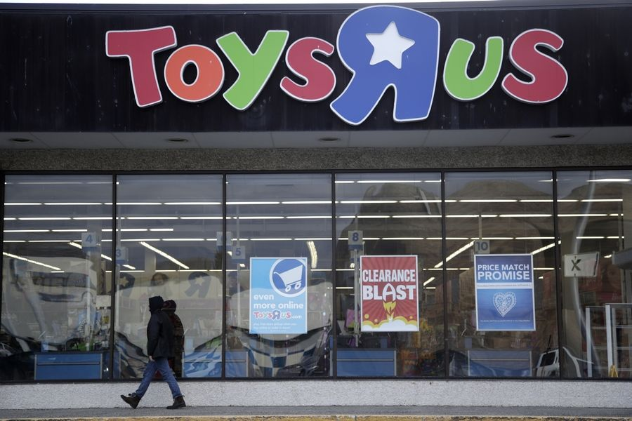 Liquidation sales should begin Friday at Toys R Us stores.