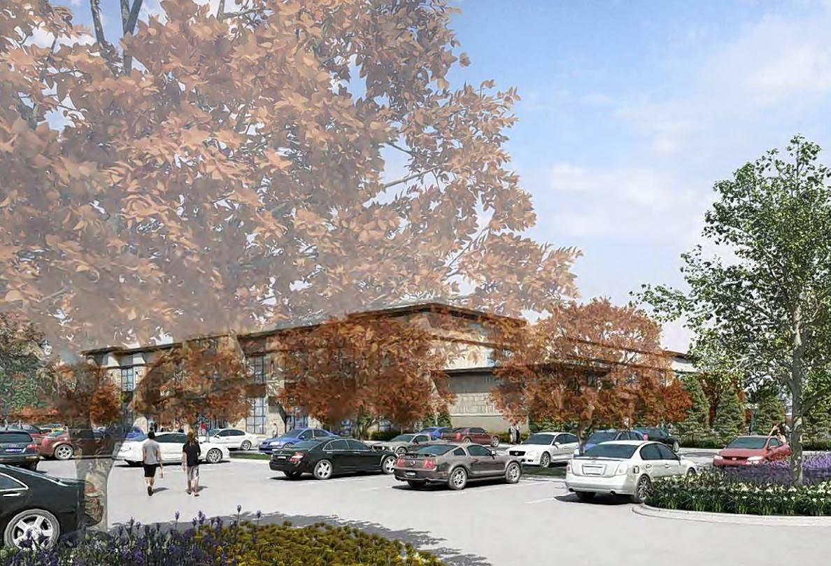 Life Time Fitness has revised its plan to build a luxury fitness center on the former Hackney's property at 880 N. Old Rand Road in Lake Zurich.