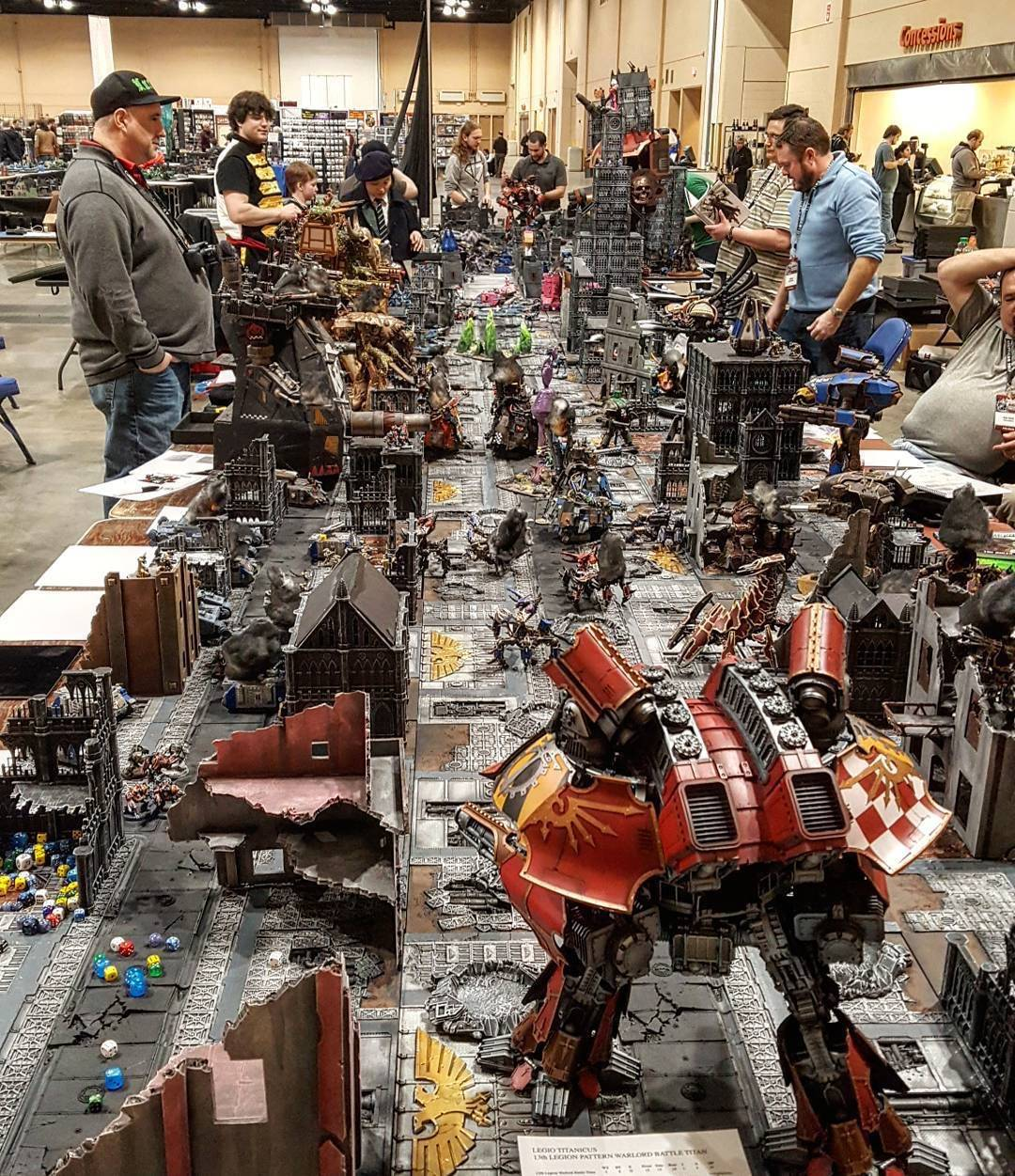At AdeptiCon, the convention for people who play miniature war-games, the accessories fill table after table.