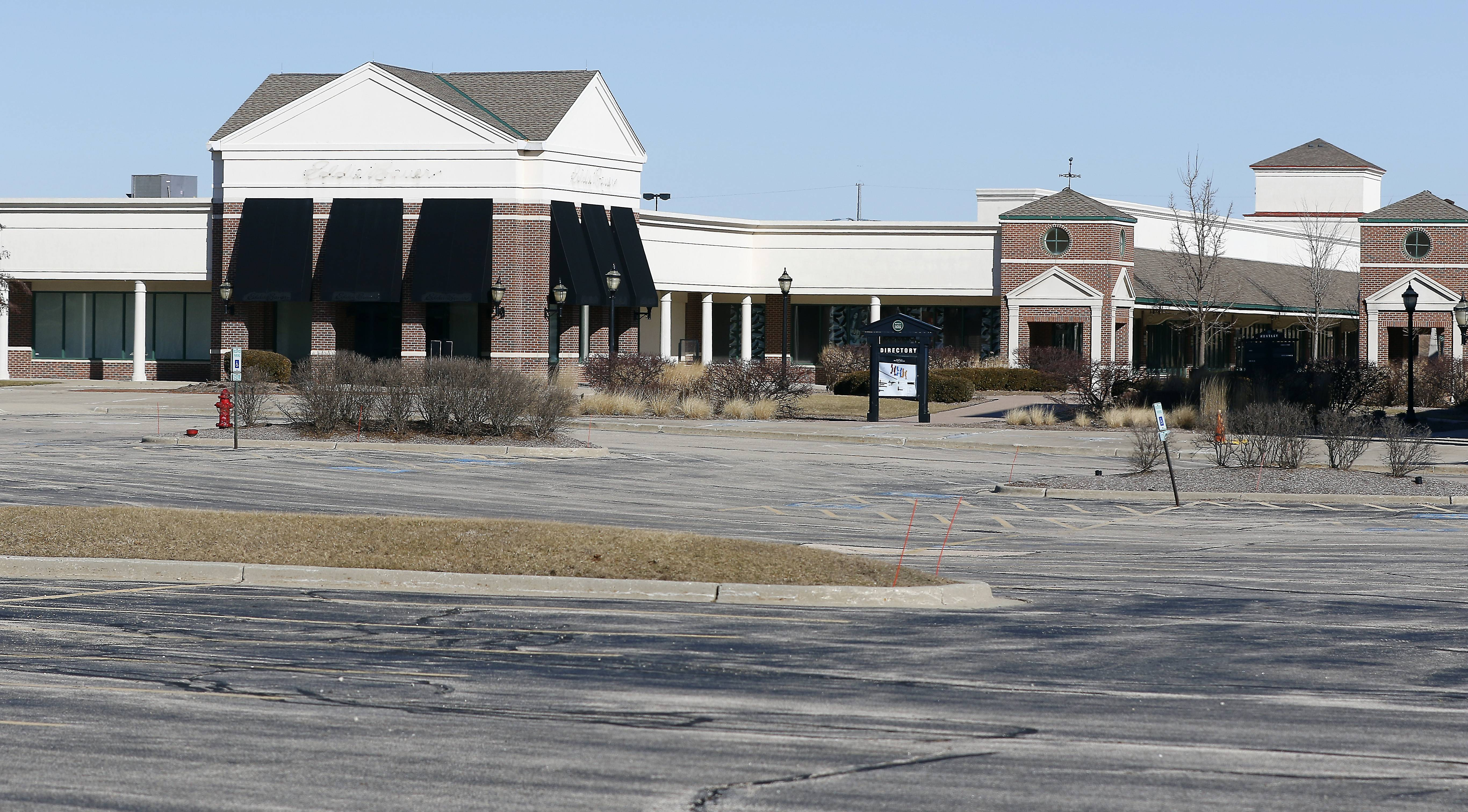 Huntley outlet mall demolition to begin in April