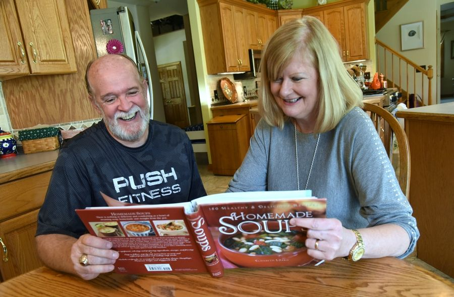 Russell Page, who finished second in 2017, looked to friends and family when he needed a motivation boost. His wife Diane helped by planning and making healthy meals.