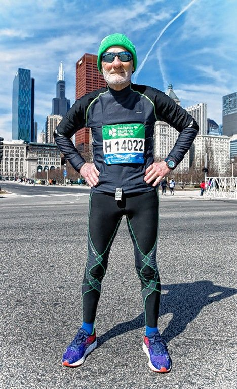 After winning his age group in the Bank of America Shamrock Shuffle 8K race in Chicago for the third year, 86-year-old Iggy Cascio of Schaumburg says he already is looking forward to competing in the 90-and-older division.