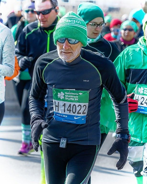 He didn't start running until he was 49, but Iggy Cascio has been an avid competitor in the 37 years since. The 86-year-old Schaumburg resident won his age division at Sunday's Bank of America Shamrock Shuffle 8K race in Chicago for the third time.