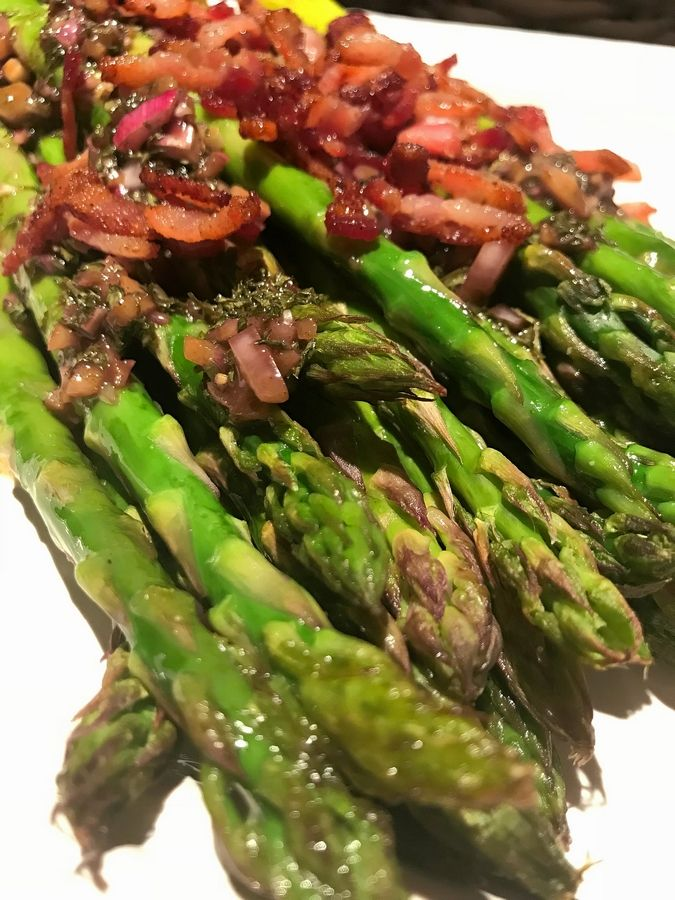 "Penny Kazmier shares her ""go-to"" recipe for making simply roasted asparagus fancy."