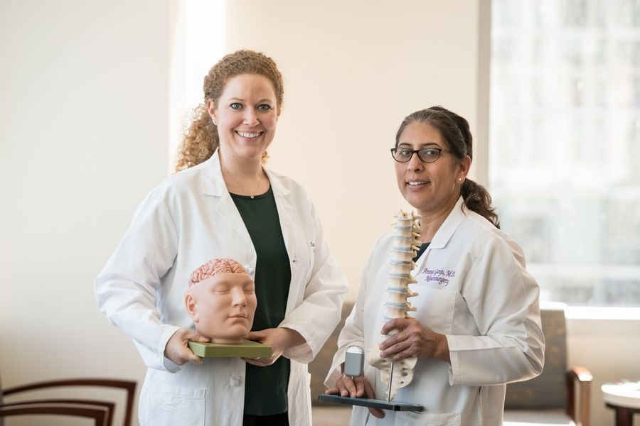 S. Kathleen Bandt, MD, and Aruna Ganju, MD, are transforming the field of neuroscience and providing inspiration for girls everywhere.