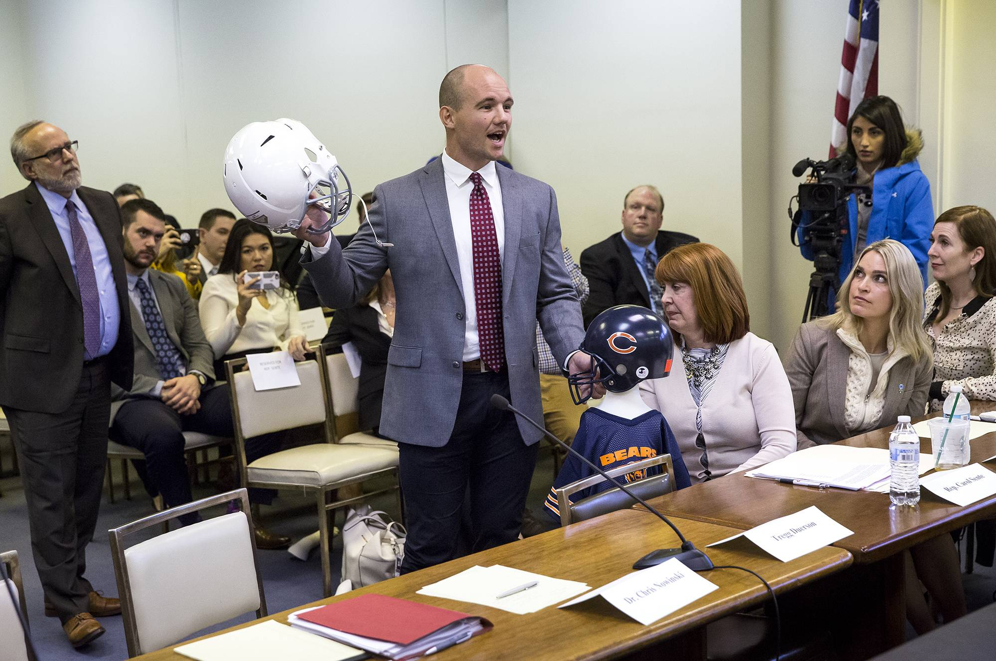 Join debate of bill banning preteens from tackle football