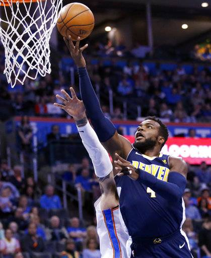Denver Nuggets Score: Millsap Scores 36 As Nuggets Top Thunder 126-125 In OT