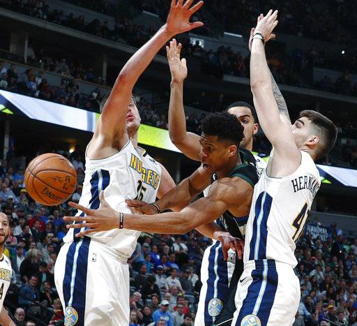 Nuggets Rally In Last Minute Of 4th, Beat Bucks In OT