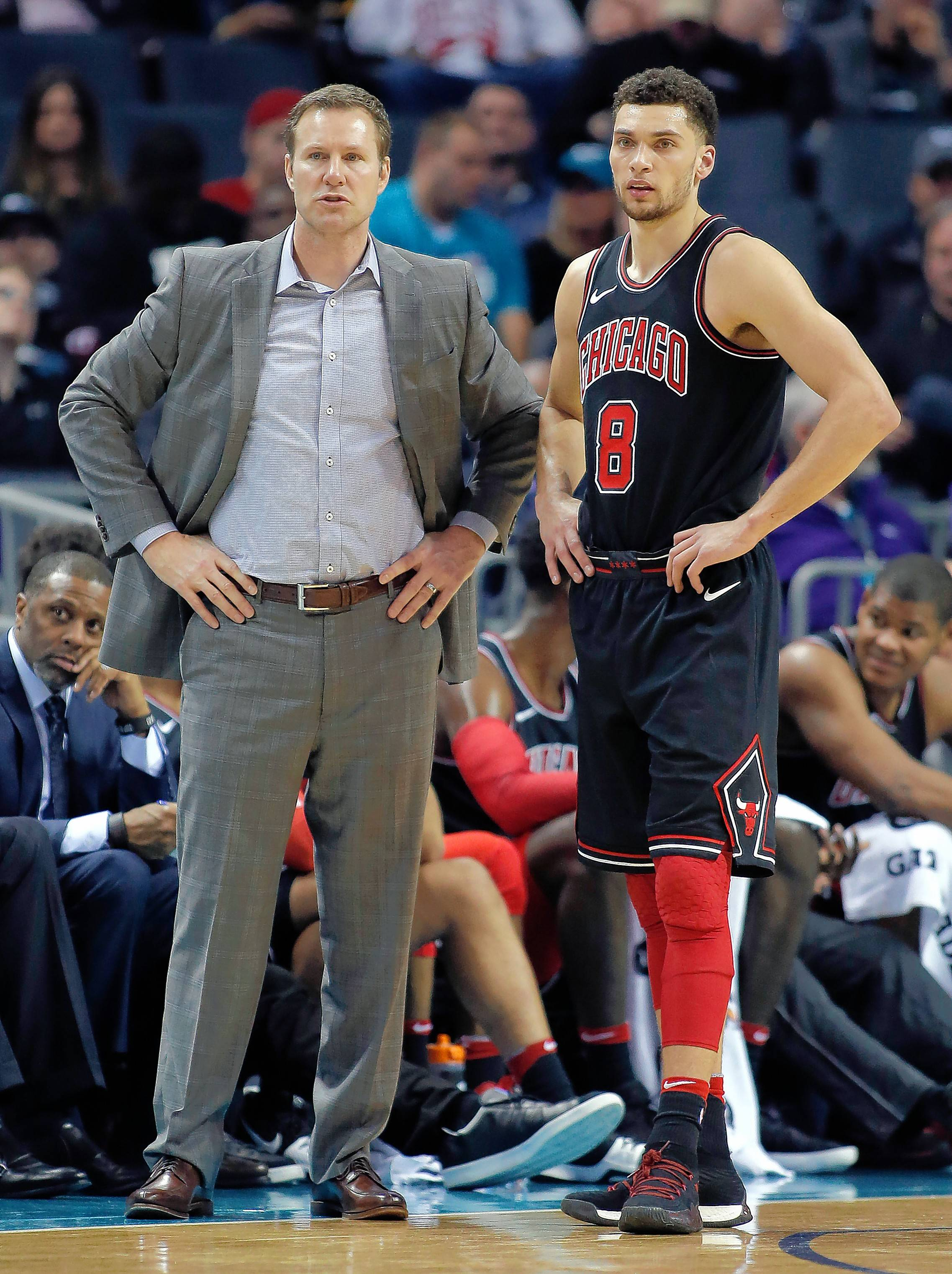 Chicago Bulls officially rule LaVine, Dunn out for season