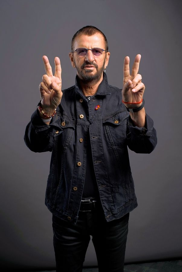 Ringo Starr and His All Starr Band performs at the Chicago Theatre on Saturday, Sept. 22.
