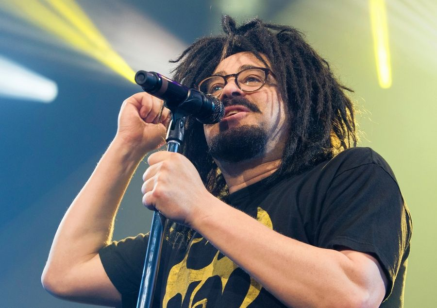 Adam Duritz with Counting Crows, which performs at the Hollywood Casino Amphitheatre in Tinley Park at 6:30 p.m. Saturday, Sept. 8.