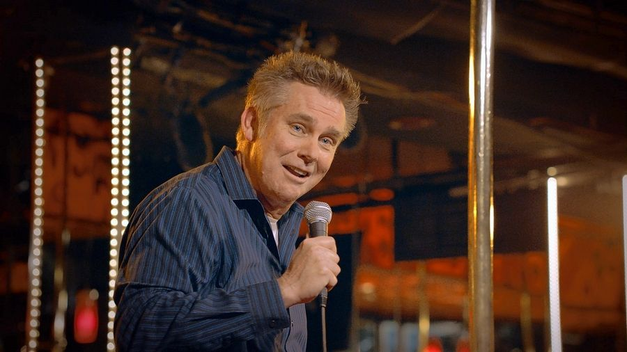 Comedian Brian Regan performs at the Chicago Theatre on Monday, Dec. 31.