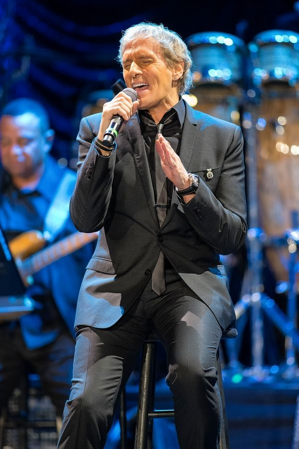 Michael Bolton performs at the Arcada Theatre in St. Charles Wednesday, April 4.