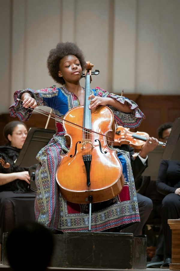 Cellist Ifetayo Ali-Landing, junior winner of the 2017 Sphinx Organization Competition, will be the guest artist at Elgin Symphony Orchestra Ainsworth Concerts for Youth April 10-11.