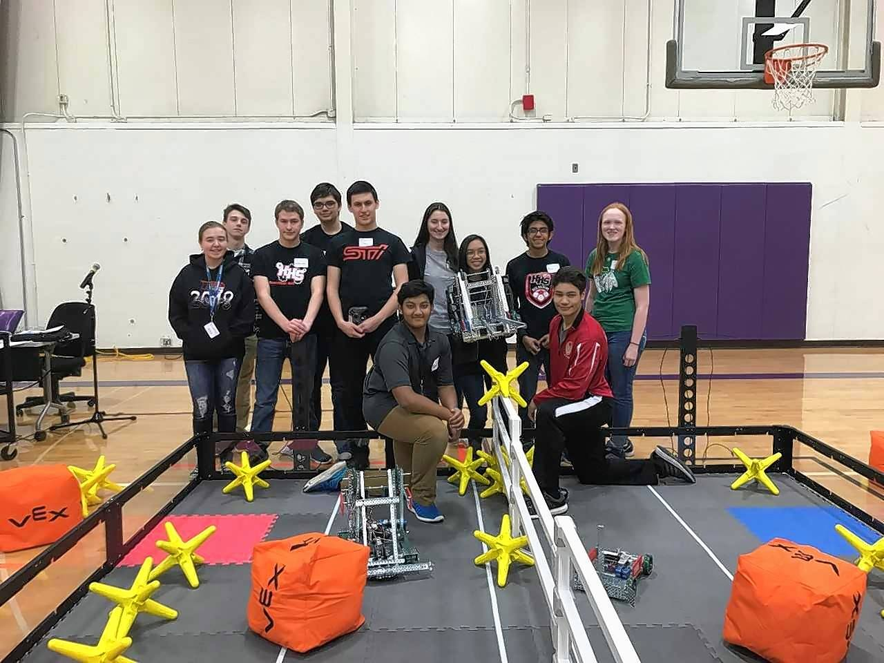 Huntley High Robotics Team Gets Funding Boost