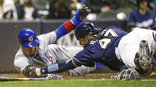 Lester, Cubs blank Brewers 8-0; Knebel going to DL