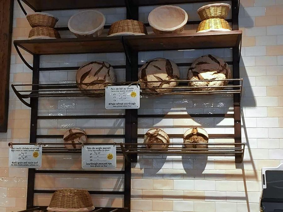 The Bread At Le Pain Quotin Bakery In Downtown Naperville Is Made Daily Chicago With