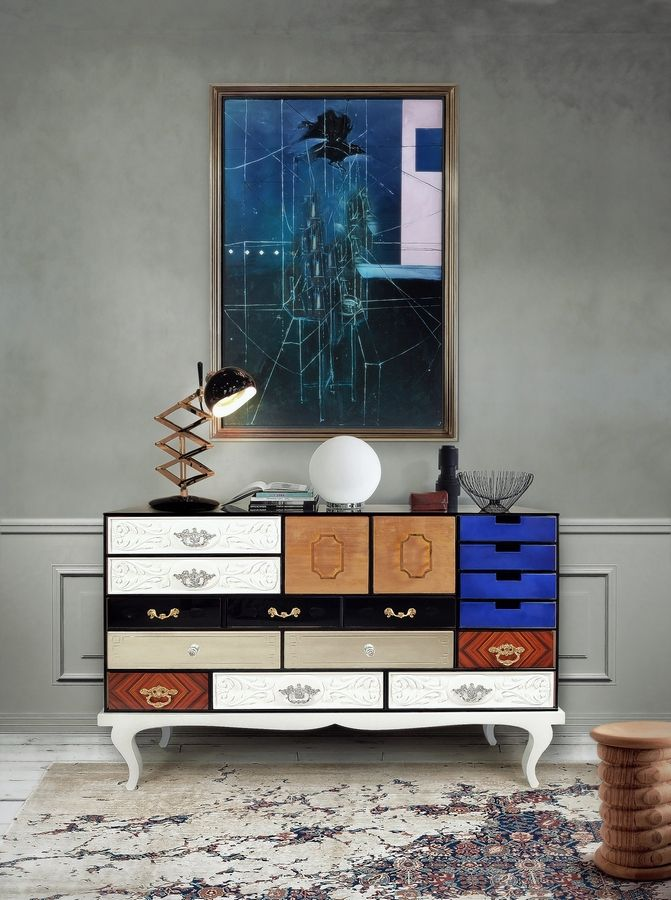 This modern sideboard is like an exquisite work of art, Christine Brun writes.