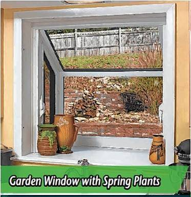 Plant windows which act as small greenhouses are a specialty product offered at Sahara & First impressions are important in life