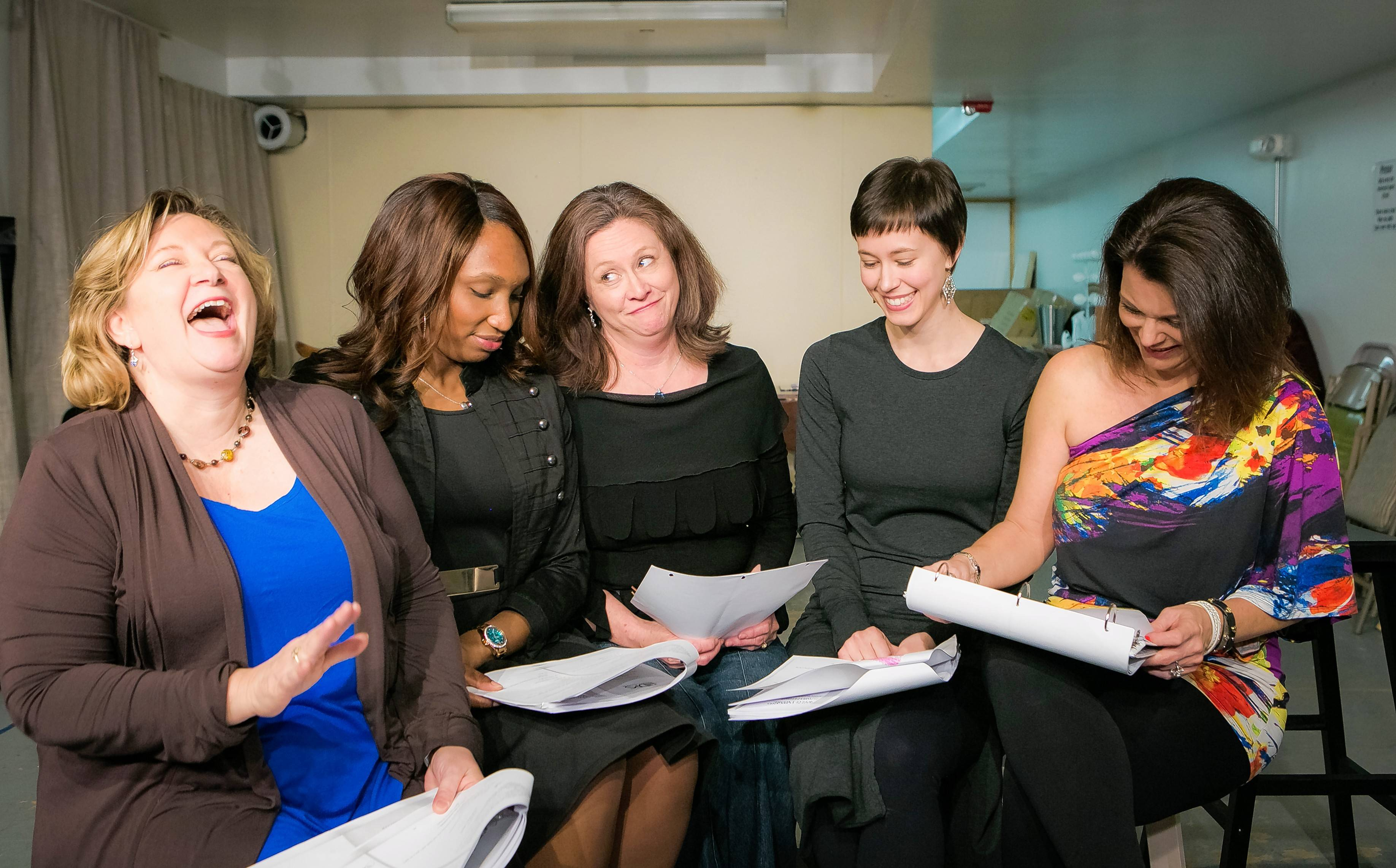 Nicola Howard, From Left, Gabrielle Gulledge, Anne Marie Lewis, Madeline  Bunke And