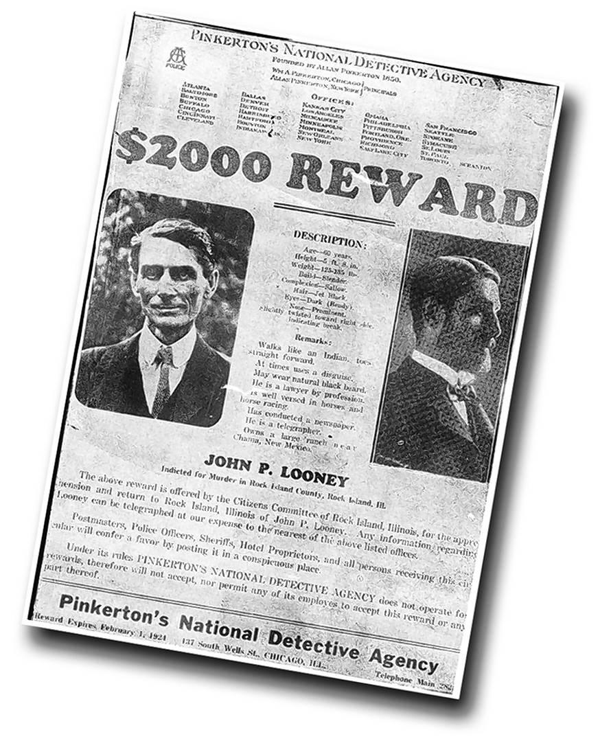 Before Capone, John Looney was the prototypical Illinois gangster