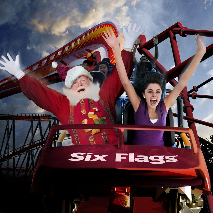 Yes, Santa, Six Flags Great America will be open for business during the holiday season this year.