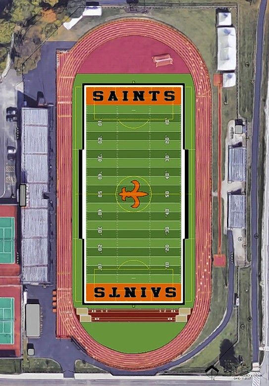 An artificial turf field is expected to be installed by next academic year at St. Charles East High School.